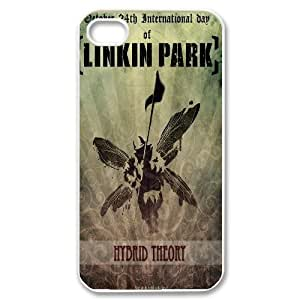 The latest linkin park band logo poster Hard Plastic phone Case for Apple iPhone 4 4S RCX089975