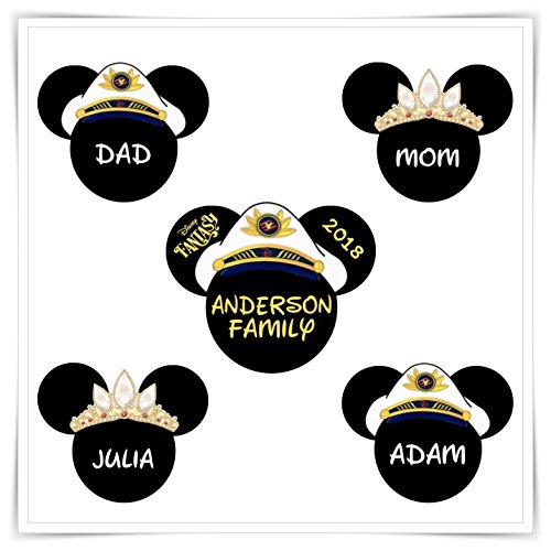 Personalized Disney Cruise Magnet. Cruise Door Magnet. Mickey