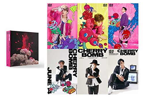 NCT 127 KPOP 3rd Mini NCT #127 [CHERRY BOMB] Album Music CD + Photobook + Photocard