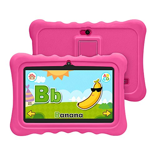 YUNTAB 7 inch Kids Edition Tablet - Android OS & Quad Core CPU, 1GB RAM,  8GB ROM, Kids Software Pre-Installed, Premium Parent Control with  Protecting