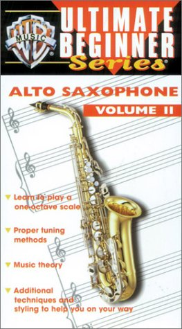 Price comparison product image Ultimate Beginner Series: Alto Saxophone 2 [VHS]