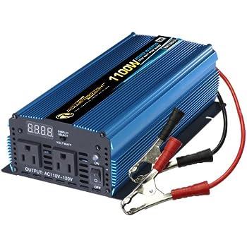 Amazon Com Power Bright Pw1100 12 Power Inverter 1100
