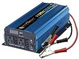 Power Brainy PW1100-12 Power Inverter 1100 Watt 12 Volt DC To 110 Volt AC