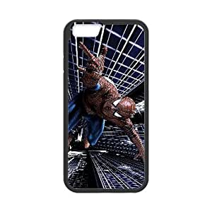 Pictures Of Spiderman iPhone 6 Plus 5.5 Inch Cell Phone Case Black xlb-171111