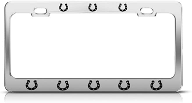 Happiness is going camping license plate frame holder tag