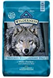 corn bre - BLUE Wilderness Adult Large Breed Healthy Weight Grain Free Chicken Dry Dog Food 24-lb