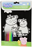 The Range Peppa Pig Velvet Colouring Set