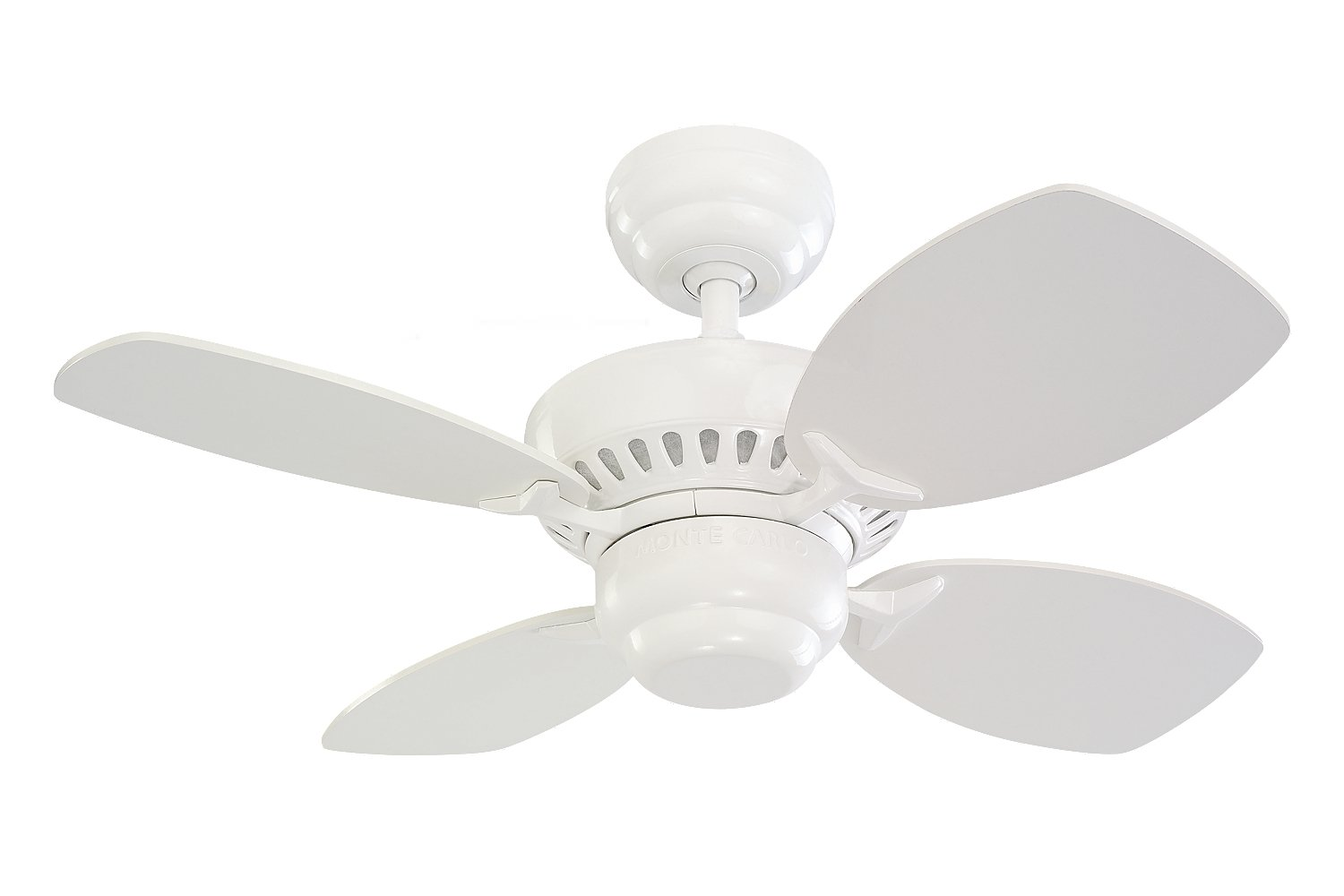 Monte Carlo 4CO28BK, Colony II Matte Black 28 Ceiling Fan