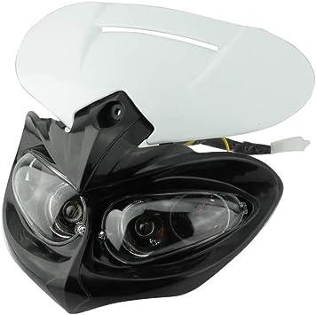 Dirt bike Universal LED Head light DualSport SuperMoto Headlight Dirtbike