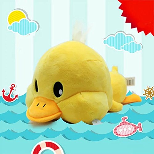 [Creative Yellow Duck Doll Plush Animal Stuffed Toy Trumpet Meng Pet Birthday Valentine Gift 11.8