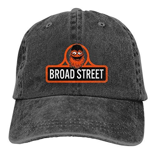 Gritty Broad Street Dad Hat Adjustable Denim Hat Classic Baseball Cap
