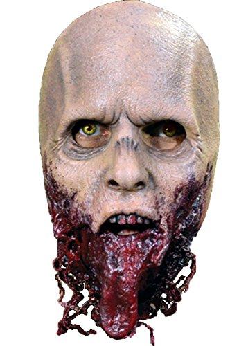 The Walking Dead Zombie Mask Costume - Jawless (Walker Costume Twd)