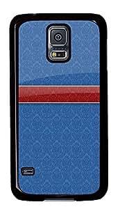 poetic Samsung Galaxy S5 covers Blue Chevron Cool PC Black Custom Samsung Galaxy S5 Case Cover