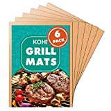 Best Grill Mats - Kohi Copper Grill Mats Non Stick for Gas Review