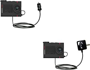 Essential Gomadic AC/DC Charge Accessory Bundle Kit for The Garmin VIRB Ultra 30 Includes Gomadic Home and Car Chargers at a Money Saving Price. Based on TipExchange Technology
