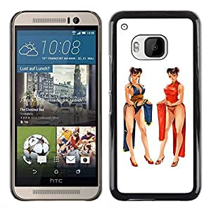 Plastic Shell Protective Case Cover || HTC One M9 || Fight Computer Fighting Game @XPTECH