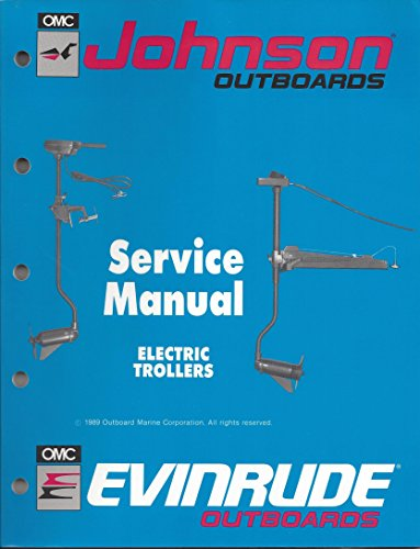 """Johnson Evinrude Outboards """"ES"""" Electric Trollers Service Manual P/N 507869"""