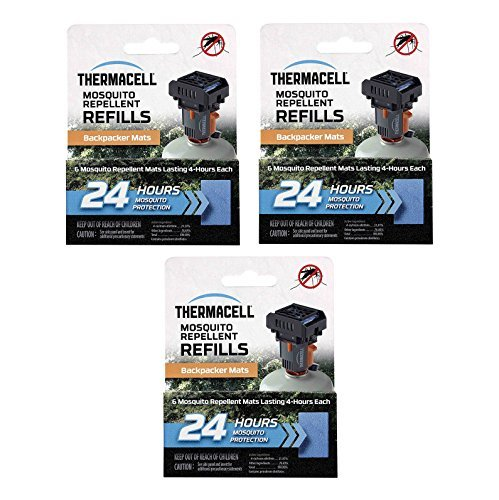 Thermacell 72-Hour Mat Only Refills  for MR-BP Backpacker Re