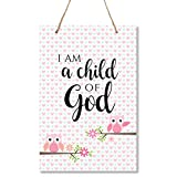 "toddler room ideas LifeSong Milestones Owl Child of God Wall Decor Decorations Signs for Kids, Bedroom, Nursery, Hallways, Baby's Boys and Girls Room, Toddlers Size 8"" x 12"" Proudly Made in USA"