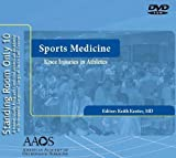 SRO Sports Medicine : Knee Injuries in the Athlete, Kenter, Keith, 0892037512