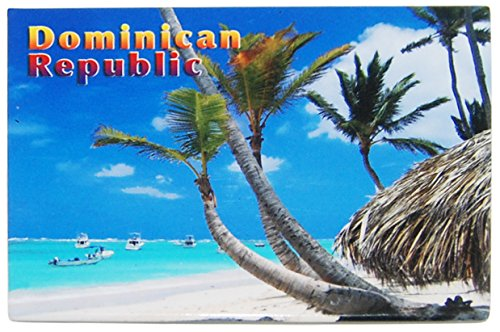 Dominican Republic Gorgeous Beach Refrigerator Magnet- Great Souvenir ()