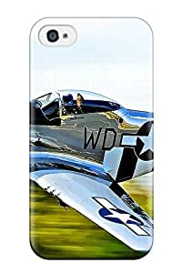 New Snap-on JeffreySCovey Skin Case Cover Compatible With Iphone 4/4s- Aircraft