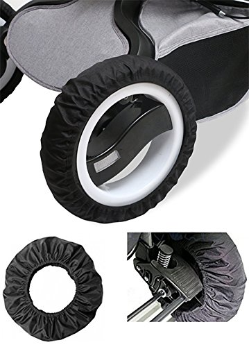 EX1 Baby Pram Stroller Wheels Cover Anti-Dust Protector (For wheels with diameter 18-25 cm)
