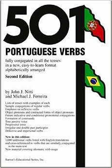 501 Portuguese Verbs (501 Verb)