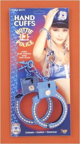 Forum Novelties Hottie Police Costume Handcuffs Blue