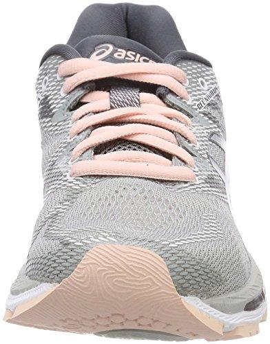 nimbus Grey Running De Chaussures mid Gris mid 9696 Femme Pink 20 Gel Grey Asics seashell Znz4qpRx