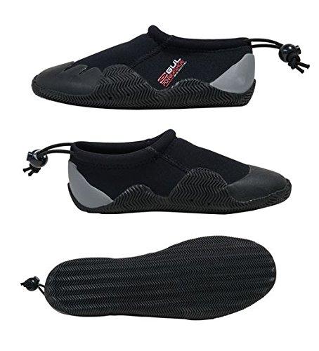 Gul neopreno Power–Zapato de neopreno (3mm), color negro/gris, talla 37(UK 4)