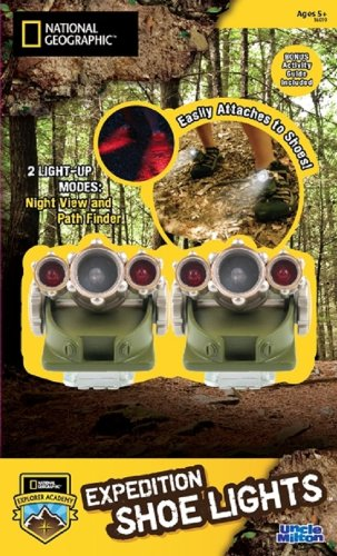 Uncle Milton - National Geographic - Expedition Shoe Lights