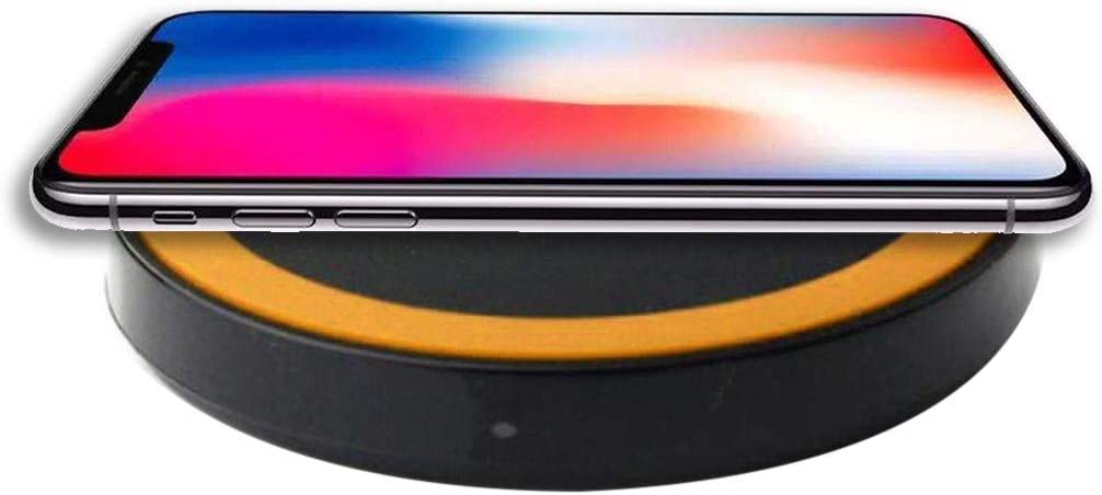 Ultra-Thin Fast Chargering Charger Power Charging Pad for iPhone Xs//XS Max//XR for Samsung S9 for iPhone X//XS//XR EDTO Wireless Charger