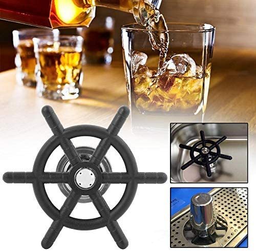 2x Beer Glass Rinser Washer Faucet Head for Cafe Bar Household Pub Equipment