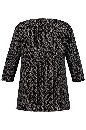 T Shirt Noir Grandes Popken 717765 Tailles Femme Ulla 0qvIzXW
