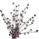 Package of 12 Natural Looking Miniature Acorn Twig Picks