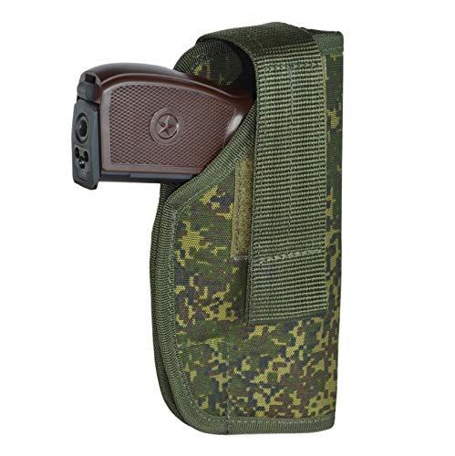 Russia Universal Molle Holster Target for Colt 1911, Glock, Sig Sauer, Beretta M9, PM (EMR Digital Flora) (M9 Target)