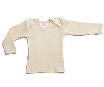 Amazon Com Hocosa Organic Wool Silk Baby Shirt Long Sleeves