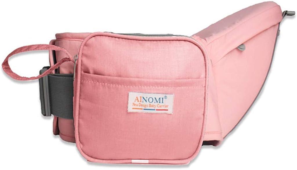 peso ligero y ahorro de trabajo Portador de beb/é ergon/ómico de Hipseat asiento del taburete de la cintura para llevar a ni/ños peque/ños del beb/é