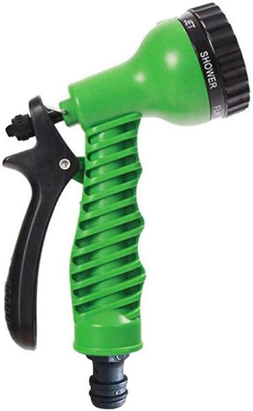 AFGH Pistola Manguera Jardin Boquilla de Pistola de pulverización de Alta presión Ajustable Herramienta de Limpieza de Ruedas hidráulicas de jardín Cabeza de Pistola de pulverización portátil Verde: Amazon.es: Jardín