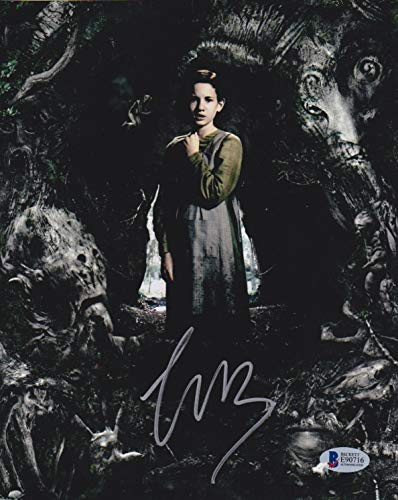 Ivana Baquero Autographed Signed 8x10 Photo Pan's Labyrinth Beckett Authentic Signature Coa B