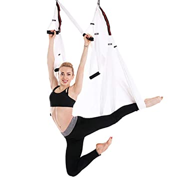 SHARESUN Columpio con Hamaca de Yoga aérea, Hamaca de Yoga ...