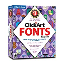 ClickArt Fonts 2006