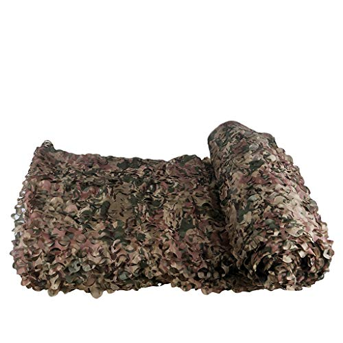 DYFYMXSunshade Camouflage CP Single Cut Flower Camouflage Camouflage net Single Layer Shade net (Color : A, Size : ()