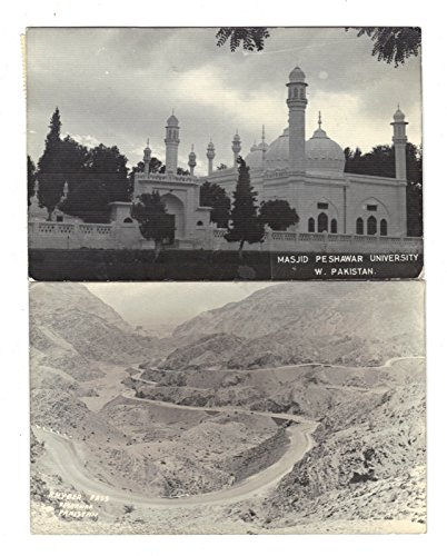 Pakistan Assorted Views Group of 2 Real Photo Antique Postcards J3894