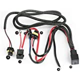 Xenon HID Conevrsion Kit Relay Wiring Harness 9005 9006 9012 9145 H10 HB3 HB4