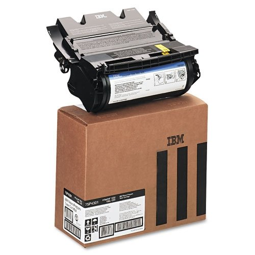 IBM 75P4301 Genuine Laser Toner Cartridge for IBM InfoPrint 1332/1352/1372 Series (Black)