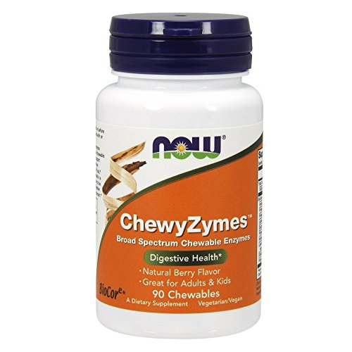 NOW Foods 733739029577 ChewyZymes Chewables