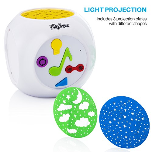 Playbees Baby Sound Machine Amp Star Projector Night Light