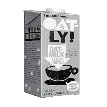 Oatly Barista Edition Gluten-free Oat Milk